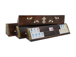Elegant Wooden Rummy Cube Game Set - Antochia Crafts