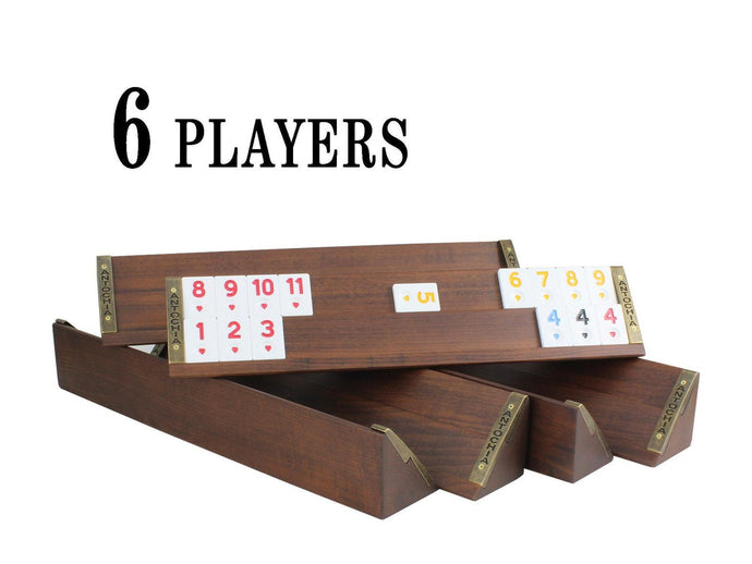 6 Players Straight Rummy Game Set Antochia Crafts