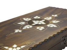Load image into Gallery viewer, Handmade Wooden Backgammon Board (Brown) Antochia Crafts