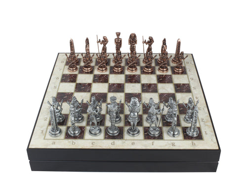 13.7 Inch Personalized Chess Set Antochia Crafts