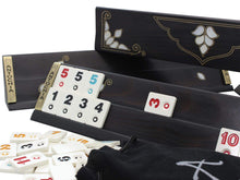Load image into Gallery viewer, Exclusive Black Wooden Rummy Cube