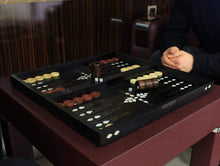 Load image into Gallery viewer, Wooden Backgammon Game Set Backammon Antochia Crafts