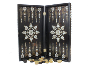 Deluxe Wooden Backgammon Game Set Backammon Antochia Crafts