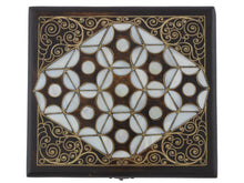 Load image into Gallery viewer, Mother of Pearl Inlaid Jewelry Box