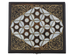Mother of Pearl Inlaid Jewelry Box