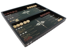 Load image into Gallery viewer, Wooden Handmade Backgammon Game Set Checkered Out