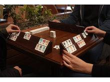 Load image into Gallery viewer, Hand Carved Wooden Straight Rummy Cube Game Set - Antochia Crafts