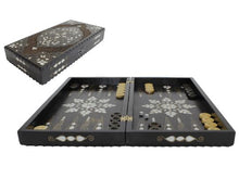 Load image into Gallery viewer, Exclusive Wooden Backgammon Game Set - Handmade - Antochia Crafts