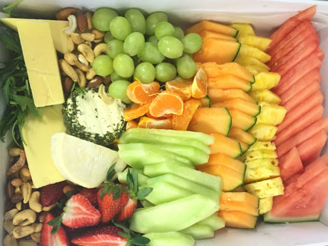 Cheese & Fruit Platter - GLUTEN FREE