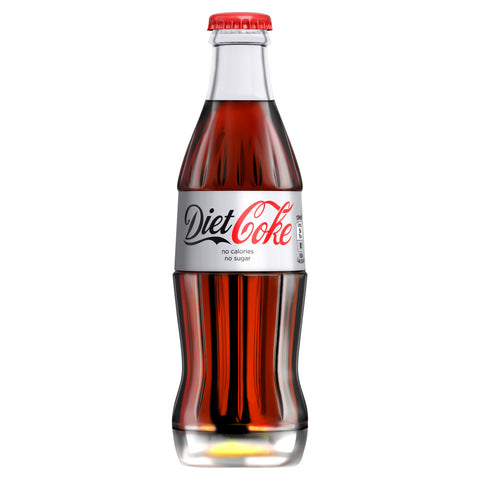 Diet Coke (330ml Glass)