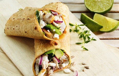 Wrap of the day (Vegetarian) - INDIVIDUAL