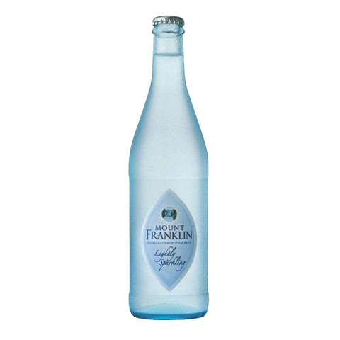 Mt Franklin Lightly Sparkling (330ml Glass)