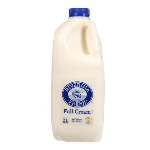 Full Cream Milk - Riverina Fresh