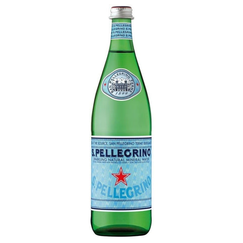 San Pellegrino Sparkling Natural Mineral Water (600ml PET)