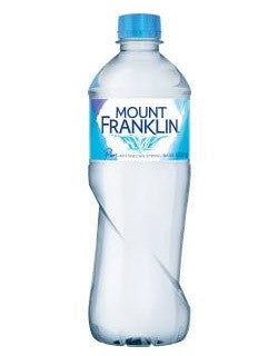 6 x Mt Franklin Still Water (600ml PET)