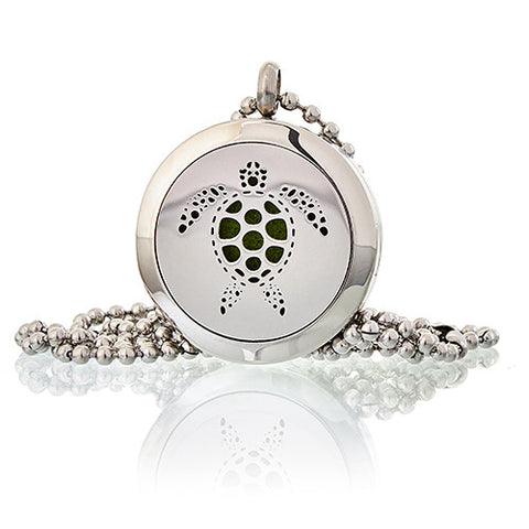 Turtle Aromatherapy Diffuser Necklace