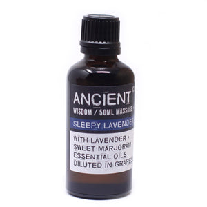 Sleepy Lavender Massage Oil