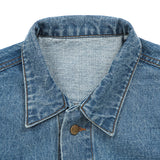 BASIC DENIM JACKET (DENIM)