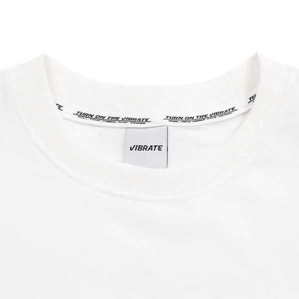D.K.M.V. BACK FINGER PRINTING T-SHIRT (WHITE)