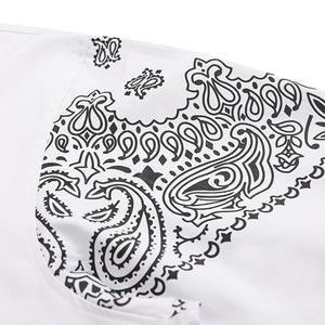 PAISLEY OVER SHIRTS (WHITE)