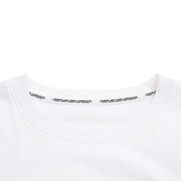 GOLDLINE SNAP BUTTON T-SHIRTS (WHITE)