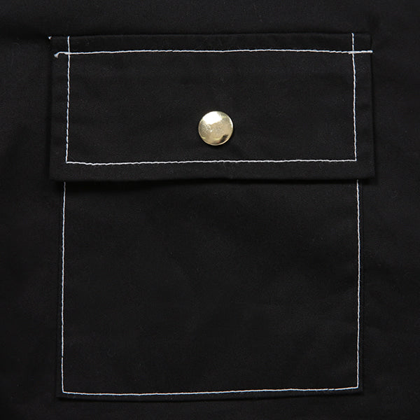 GOLDLINE 3POCKET HALF SHIRTS (BLACK)