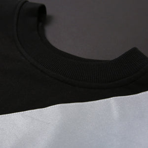 SCOTCHLITE OBLIQUE LINE TOP (BLACK)