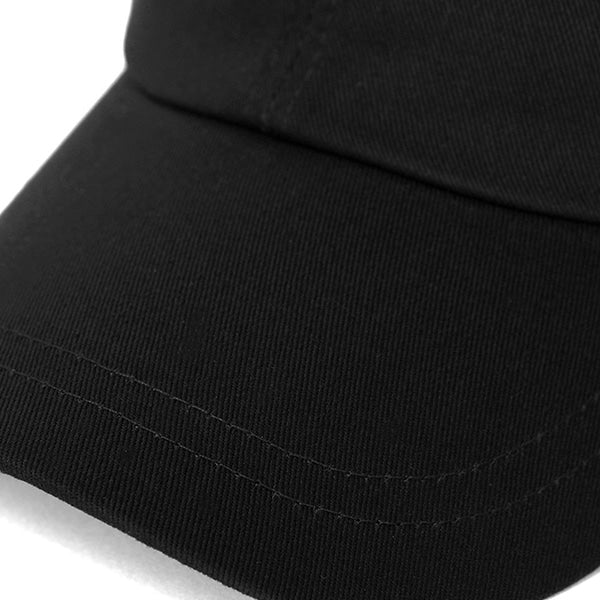 EMPTIED LOGO BALL CAP (BLACK)