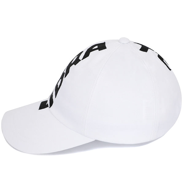 CROWN EMBROIDERY BALL CAP (WHITE)