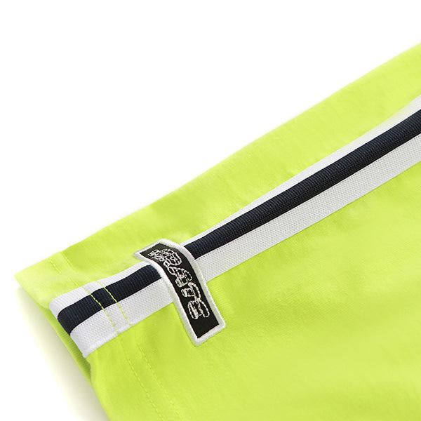 WAVY BACK LOGO T-SHIRT (LIME)