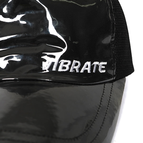 BASIC LOGO PVC BALL CAP (BLACK)