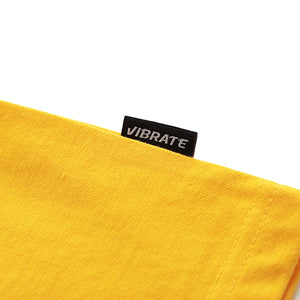 HERRINGBONE TAPE T-SHIRTS (YELLOW)