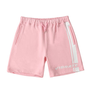 SIDE LINE LOGO SHORT PANTS (PINK)