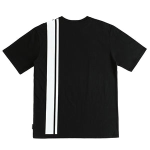 SIDE LINE LOGO T-SHIRTS (BLACK)