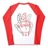 BASIC LOGO RASH GUARD (WHITE)
