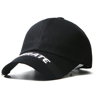 LOOP BALL CAP (BLACK)