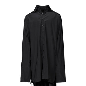 OVER CUFFS SHIRT (BLACK)