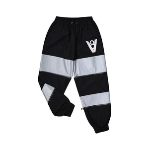 SCOTCH BLOCK PANTS (BLACK)