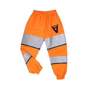 SCOTCH BLOCK PANTS (ORANGE)