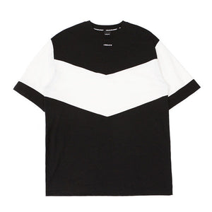 V COLOR SCHEME T-SHIRT (BLACK&WHITE)