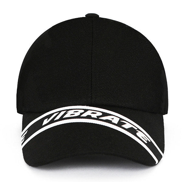 STRAP BALL CAP (BLACK)