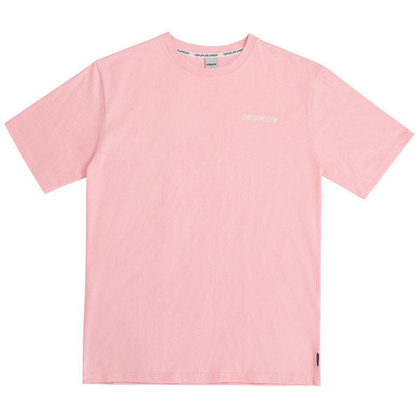 HAND DISC BACK LOGO T-SHIRTS (PINK)