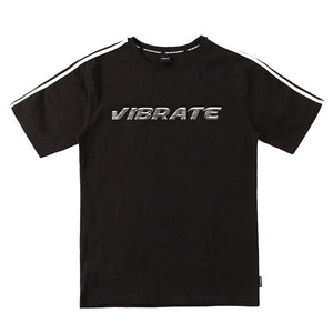 CHROME LOGO T-SHIRTS (BLACK)