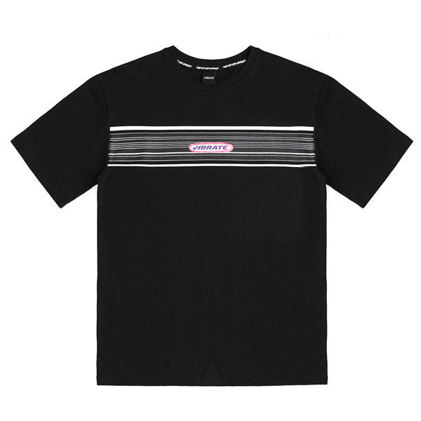 ROUND LOGO T-SHIRTS (BLACK)