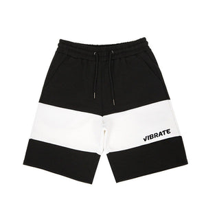 COLOR INVERSION SHORT PANTS (BLACK)