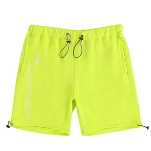 TRIPPER OUTLINE LOGO SHORT PANTS (LIME)