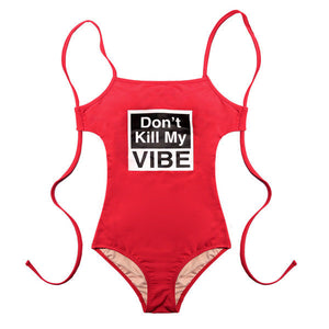 D.K.M.V SWIM SUIT (RED)
