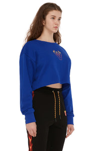 BLAZE LOGO CROP TOP