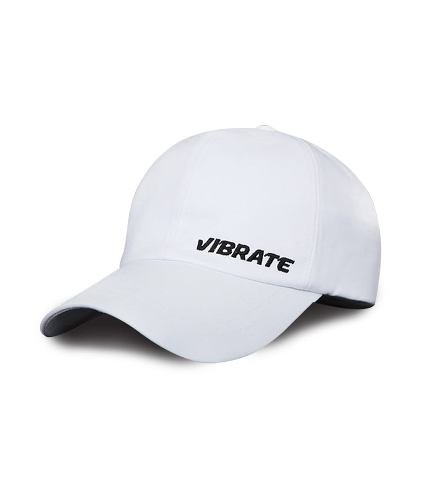 BASIC SIDE LOGO BALL CAP (WHITE)