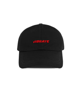 3D BASIC BALL CAP (RED&BLACK)